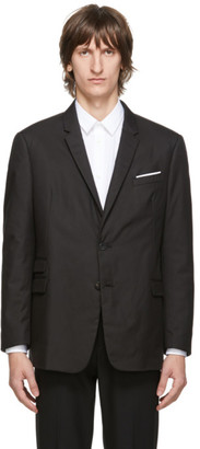 Neil Barrett Black Slim Regular Fit Blazer
