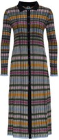 Thumbnail for your product : M Missoni Knitted Maxi Cardi-Coat