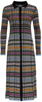 M Missoni Knitted Maxi Cardi-Coat