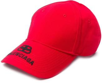 Balenciaga BB visor cap
