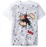 Liquid Blue Men's Popeye Breakout Short Sleeve T-Shirt