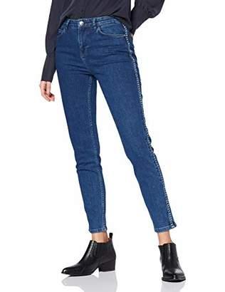 Yargıcı womens POCKET DETAILED DENIM TROUSERS Trousers, Blau (Medium Indigo 515)