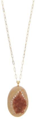 Cvc Stones Sweetness Diamond & 18kt Gold Pendant Necklace - Womens - Gold