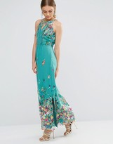 Yumi Floral Maxi Dress