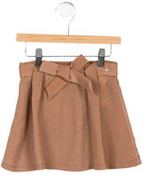 Chloé Girls' Bow-Accented Skirt