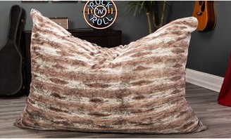 Large Bean Bag Chair & Lounger Latitude Run Upholstery Color: Mountain Fox