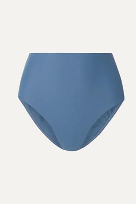 Matteau - The High Waist Bikini Briefs - Storm blue