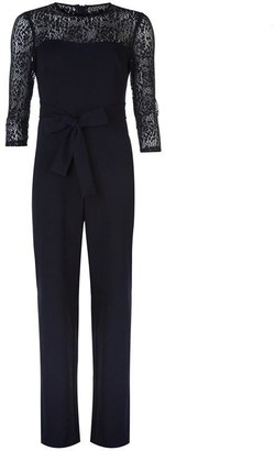 DKNY Occasion Tie Waist Jumpsuit