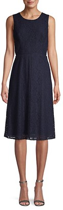 Rachel Roy Elana Lace Fit Flare Dress