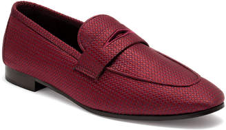 Bougeotte Pois Canvas Penny Loafers