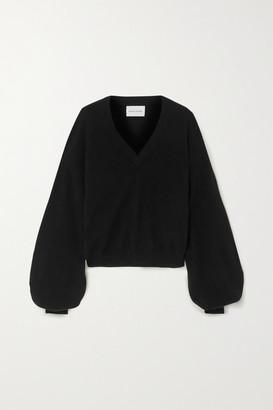 LOULOU STUDIO Cashmere Sweater - Black