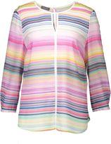 Basler Stripe Print Blouse