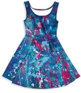 Zara Terez Girl's Splatter Roundneck Dress
