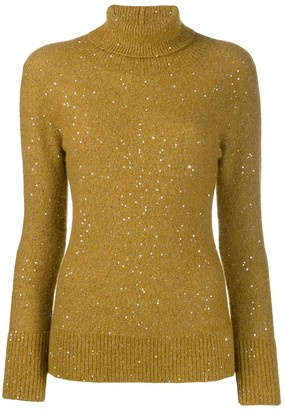 Fabiana Filippi Sequin Embellished Jumper