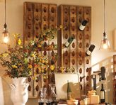 Pottery Barn French Wine Bottle Riddling Rack