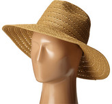 Vince Camuto Lurex Shine Braided Wide Brim Hat