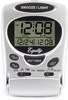 La Crosse Technology 31300 Fold-Up LCD Travel Alarm Clock with Nap Timer and Backlight