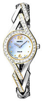 Seiko Women's Two-Tone Mother-of-Pearl Swarovski Accent Watch