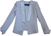 Balmain Ecru Wool Jacket