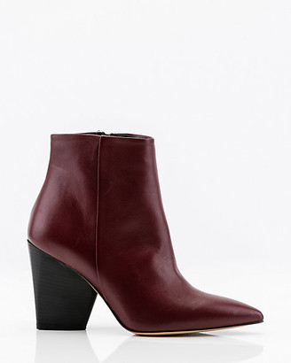 Le Château Italian-Made Leather Pointy Ankle Boot