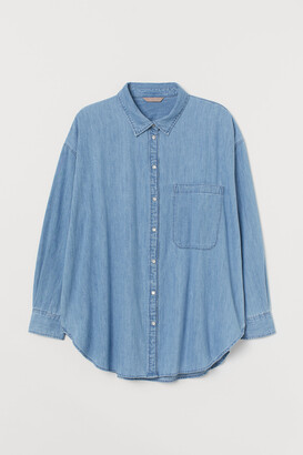 H&M H&M+ Denim shirt
