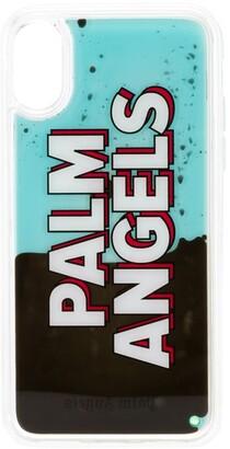 Palm Angels liquid effect iPhone X case