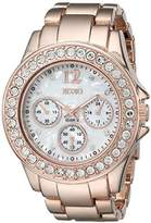 XOXO Women's XO5650 Rose Gold-Tone Bracelet Analog Watch