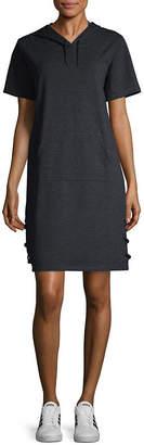 Xersion Short Sleeve Sweatshirt Dress