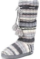 Muk Luks Women's Tall Grace Tie Slipper Boot
