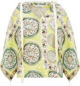 J.W.Anderson paisley print hooded blouse
