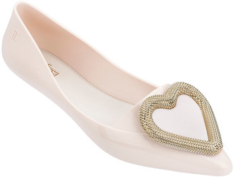 N. Melissa Shoes Pointy Heart Ballet Flats