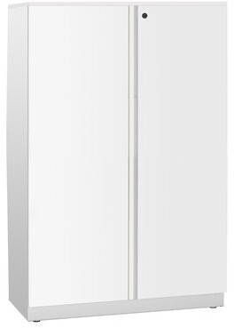 BEIGE Ber 2 Door Storage Cabinet Rebrilliant Finish