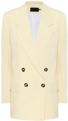 Proenza Schouler Double-breasted twill blazer