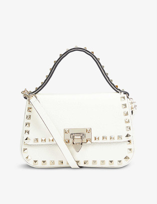 Valentino Rockstud small leather top handle bag