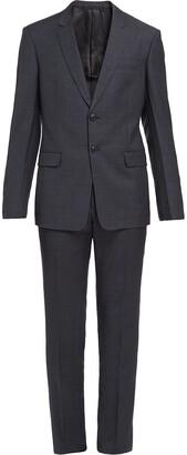 Prada Single-Breasted Wool Suit