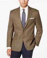 Lauren Ralph Lauren Men's Olive Neat Classic-Fit Sport Coat