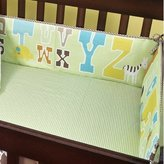 Beansprout ABC 123 Cotton Crib Bumper by Bean Sprout