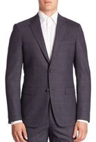 Theory Wool Blend Suit Jacket