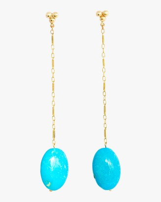 Haute Victoire Turquoise Drop Earrings