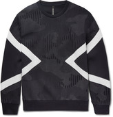 Neil Barrett - Modernist Panelled Jersey Sweatshirt