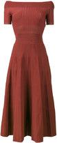 Barbara Casasola Kate knitted off-shoulder dress