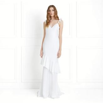 Rachel Zoe Nicolina Duchess Crepe Gown