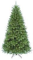 Kurt Adler TR2326 7' Pine Christmas Tree with 1026 Tips, 50-Inch Girth with Metal Base