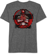 JEM Men's Deadpool Four Block Graphic-Print T-Shirt from