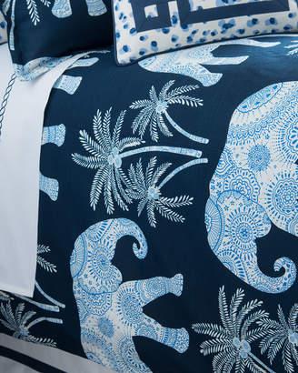 Jane Wilner Designs King Ellie Elephant-Print Duvet Cover