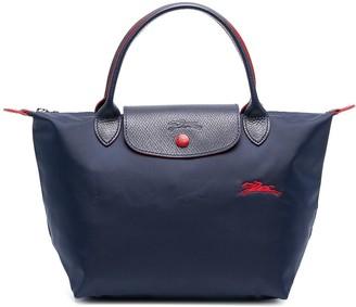 Longchamp small Le Pliage top hadle bag
