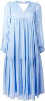 Masscob flared midi dress - women - Silk/Cotton - XS