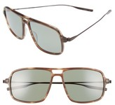 Salt Men's Burkhart 59Mm Polarized Sunglasses - Mauve Mist/ Turkish Coffee