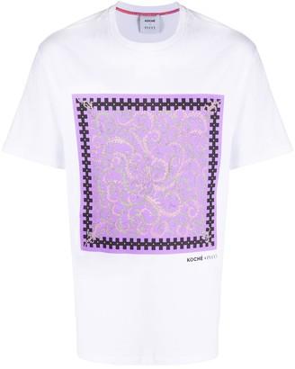 Emilio Pucci x Koche Selva print T-shirt