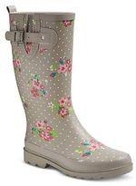Western Chief Women's Floral Dot Matte Rain Boots